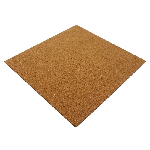 Cheapest Price for 100 X NATURAL CORK TILES SELF ADHESIVE FOR FLOOR/WALL/DIY 300x300mm (4mm thick) Online