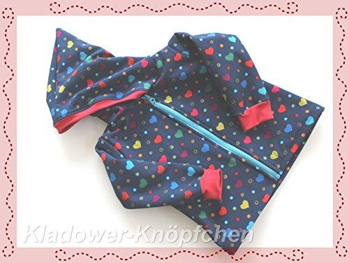 Softshell Jacke von Gr.56-128 erhältlich
