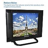 Adcom 38.1 CM (15 Inch) 1512 Ready LED TV with Smart Saving (Black)