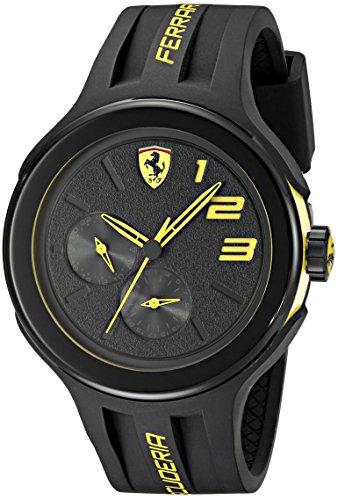 ferrari-mens-830224-fxx-yellow-accented-black-watch