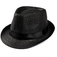 Sombrero Para El Sol Rawdah Gorra Unisex Trilby Gangster Sombrero De Paja  De Sol De Playa dd900bd8b50