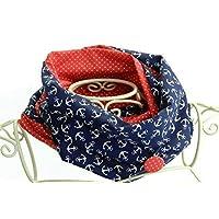 Loop-Schal aus Stoff