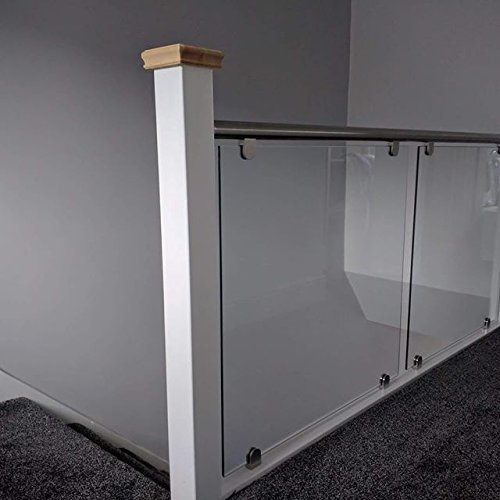 Balustrade Kit (Stahl Handlauf & Glas Landung Balustrade Kit (Passform Landing))