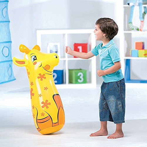52152 Pungiball gonfiabile sempre in piedi Bestway per bambini a forma di giraffa. MWS
