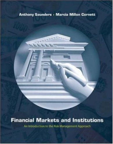 Financial Markets And Institutions Anthony Saunders Pdf