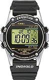 Timex Atlantis - T77511 - Montre Homme - Quartz Digital - Alarme/Compte  rebours/Chronomtre/Lumire - Bracelet Rsine Noir
