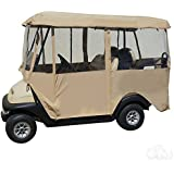 """80"""" Deluxe Universal 4 Sided Fabric 4-Passenger Golf Cart Enclosure"""