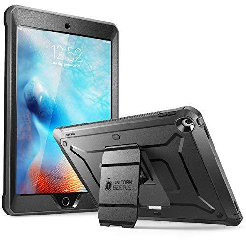Supcase iPad 9,72017Case, [Heavy Duty] [Unicorn Beetle PRO SERIES] Fullbody Rugged Schutzhülle mit integrierter Displayschutzfolie und Dual Layer Design für Apple iPad 24,6cm 2017(schwarz/schwarz)
