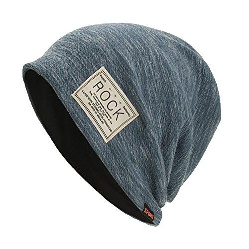 OYSOHE Damen Männer Caps Warm Baggy Weave Crochet Winter Wolle Knit Ski Beanie Skull Hut