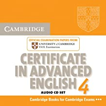Cambridge Certificate in Advanced English 4 for Updated Exam Audio CDs (2) (CAE Practice Tests)