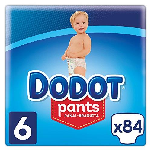 Dodot Pants - Pañal-Braguita Talla 6, ( 15+ kg), 3 x 28 Pañales - Total 84 Pañales