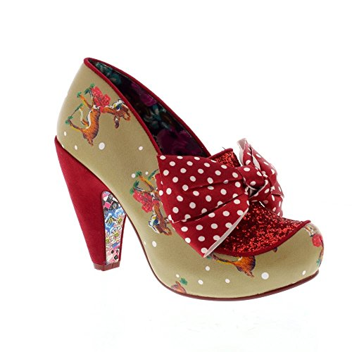 <span class='b_prefix'></span> Irregular Choice One Love - Red (Man-Made) Womens Heels