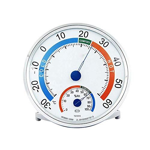 YLJYJ Thermo Hygrometer, Innen Außen Analog Geeicht Präzisions Thermometer Dekorative Genaue Raumklimakontrolle Monitor Wetter Zähler Für Humidor/Reptil Inkubator/Gewächshaus, 6275911569517