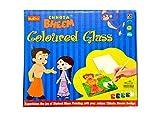 Chhota Bheem Coloured glass