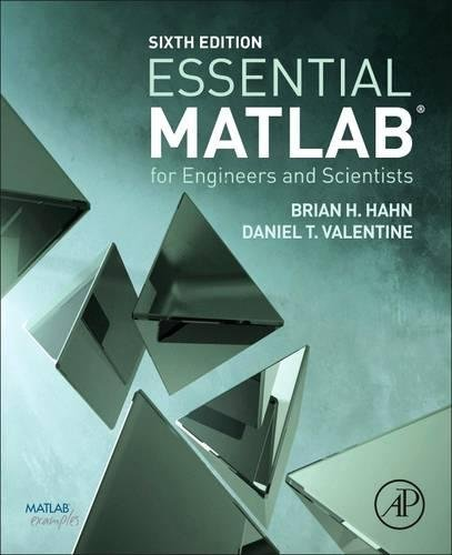 Essential MATLAB for Engineers and Scientists por Brian Hahn