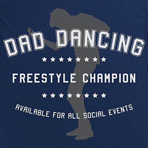 Dad Dancing Freestyle Champion T-shirt, Uomo Blu navy