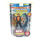 Marvel Legends 6' Action Figure Series 2 : NAMOR with Bonus 32 page Comic Book and Collector Wall Mountable Display Stand by Toybiz