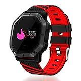 ATpart Fitness Trackers, Fitness socken K5 Smart Watch IP68 Wasserdichte Sportmodi Radfahren Schwimmen Herzfrequenz Blutsauerstoffsättigung Fitness Tracker Smartwatch