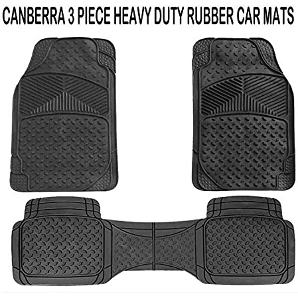 2012-Date New Black Heavy Duty Rubber Tailored Car Floor Mats Isuzu D-Max