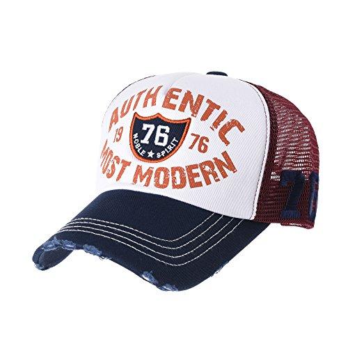 Imagen de withmoons de béisbol de trucker sombrero de vintage baseball cap  meshed distressed trucker hat ... b25e2a1a265