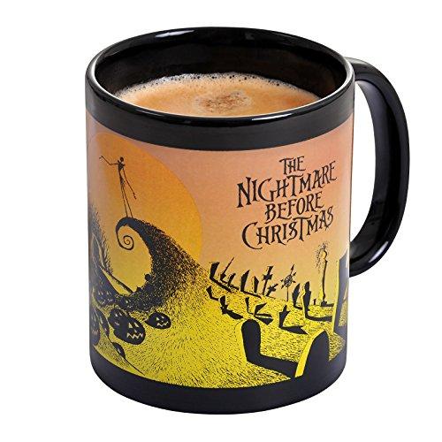 istmas Thermoeffekt Tasse Graveyard Jack Skellington 315ml Disney Keramik (Jack Skellington)