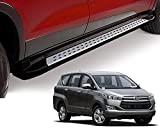 #3: Auto Pearl - Premium Quality Smart Side Guard Stainless Steel Smart Side Guard Footsteps For - Toyota Innova Crysta