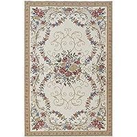 CHENGYANG Tappeti moderni orientale e classico Tappeto orientali motivo floreale