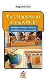 Sciences en Maternelle avec la Pedagogie Montessori par Marguerite