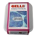 GELLI ARTS stampaggio e Stampa Kit, Materiale Sintetico,, 19x 16.5x 11.5cm