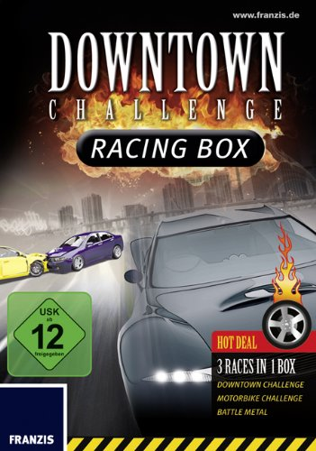 FRANZIS Downtown Challenge Racing Box