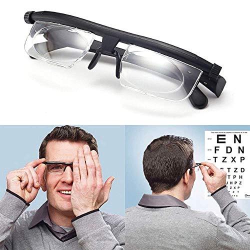 ZUZU Fokus Auto-Adjusting Lesebrille Männer Frauen Einstellbare Männer Frauen Lesebrille Myopie Brillen -6D bis + 3D 1080p Plasma Tv
