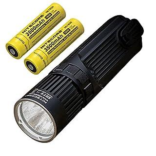 Combo: Nitecore SRT9 CREE XHP50 LED Flashlight -2150 Lumens w/2x NL1835 Battery