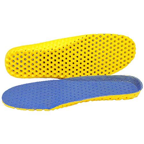 Modaka 3D Solette Interne per Scarpe, Ortopediche, Traspiranti, assorbenti Gli Urti, C37