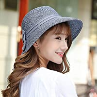PLKOI Sombrero de Paja La Sra. Verano Playa sombreros sombrero para el sol la playa sombreros de sol,Grayb tapa de radiador