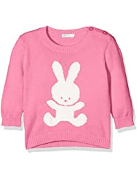 United Colors of Benetton Sweater L/S Cotton Blend, Sudadera para Bebés