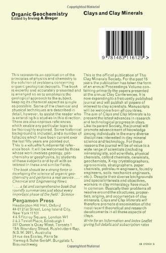 Geochemistry of Organic Substances: International Series of Monographs in Earth Sciences: Volume 28