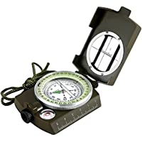 Syolee Compass Military Navigation Solid Compass Waterproof and Shakeproof Perfect for Hiking Camping Climbing Biking