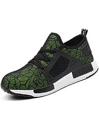 COOU Zapatillas de Seguridad para Hombre Ligeras S3 Calzado de Trabajo para  Comodas 07250355d9919