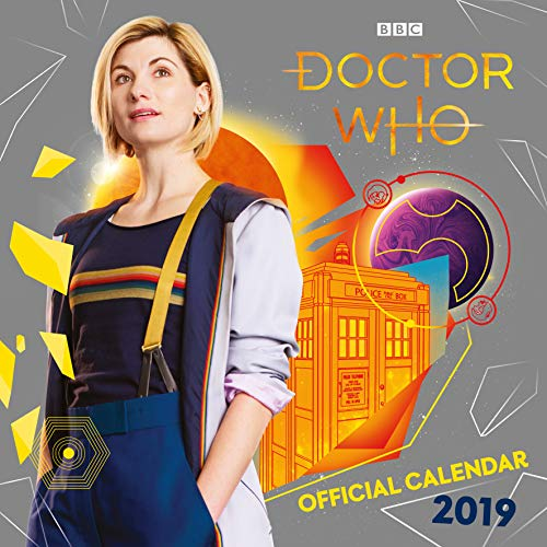 Doctor Who Official 2019 Calendar - Square Wall Calendar Format par Doctor Who