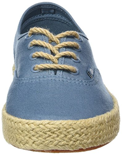 Vans Authentic Espadrille, Baskets Basses Mixte Adulte Bleu (Canvas/Aegean Blue)