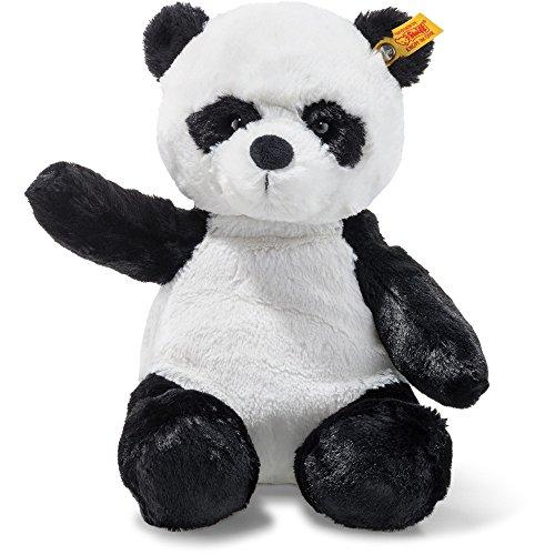 Steiff Soft Cuddly Friends Ming Panda Kuscheltier, weiß/schwarz
