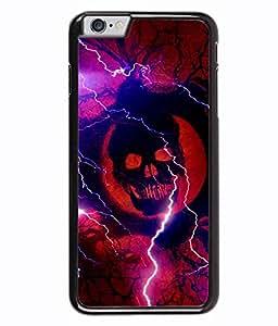 PRINTVISA Electric Box Premium Metallic Insert Back Case Cover for Apple Iphone 6 Plus - D6040