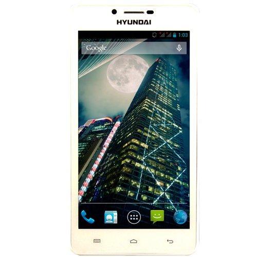 Hyundai SP Quad Core 6  - Smartphone dual SIM de 6   Quad Core 1 5 GHz  1 GB de RAM  color blanco