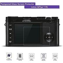 Leica Q Protezione per lo schermo in vetro temperato–Fiimi LCD Pellicola Proteggi Schermo per Leica Q (Typ 116), 9H Durezza, 0,3mm spessore, in vetro vero