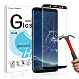 Galaxy S8 Screen Protector,Yica Tempered Glass Screen...