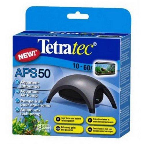 Tetra APS50 Silent Aquarium Air Pump for 10 - 60 Litre Fish Tanks Test