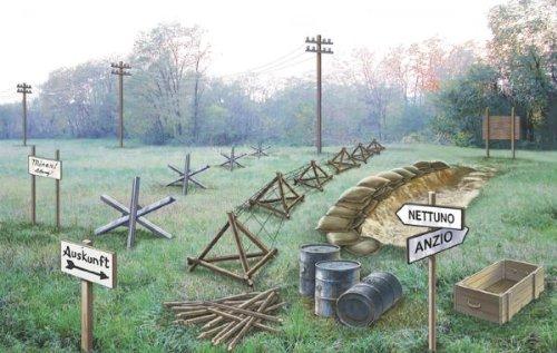 Preisvergleich Produktbild Italeri 510006049 - 1:72 Zubehör Schlachtfeld WWII