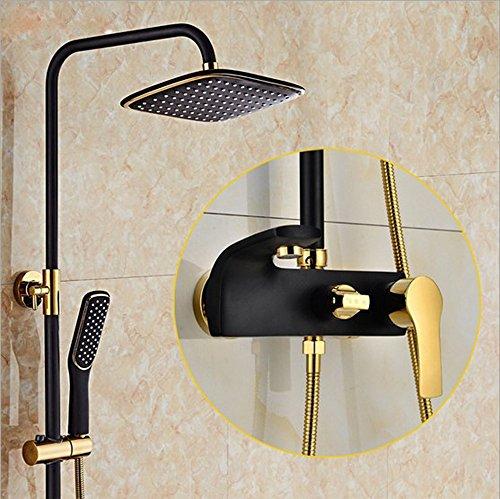 Sursy sprenger, schwarze alte - vier sachen voller kupfer - dusche,schwarzes gold