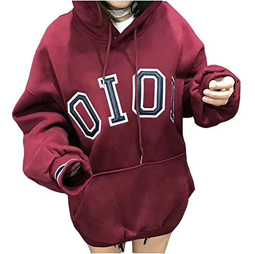 tiny-time-schule-madchen-jungen-gross-yards-hoodies-oioi-stickerei-studenten-kapuzenpullover-l-rot