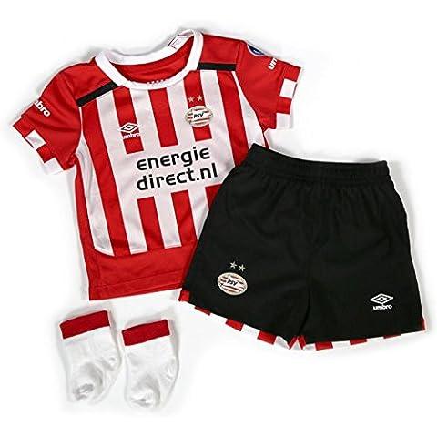 2016-2017 PSV Eindhoven Home Little Boys Mini Kit